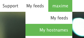 customizable hostname